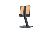 Heckler Design H620 Apple iPad Stand For the Office, Work-from-Home, or Classroom (Black-Grey)