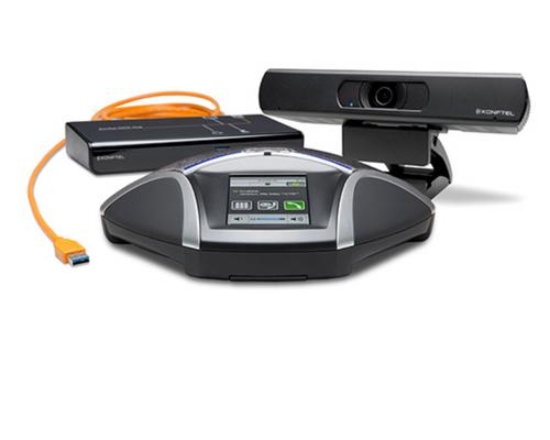 Konftel C2055 - Konftel 55 Speakerphone, Cam20 Video Camera and OCC Hub B232