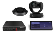 Microsoft Teams Kit featuring the AVer VC520 Pro with the Lenovo Tiny Designed for Conference Rooms