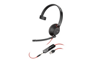 Poly Blackwire 5210 USB On-Ear Headset