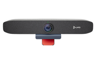 Poly Studio P15, Open Ecosystem, 4K Camera, Integrated Speaker, 3 x Mic; (1) USB 3.0 Type C to Type C, 1.5m works with Zoom, Microsoft Teams, GoTo Meeting, Google Hangouts