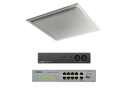 Yamaha ADECIA Conference Room Audio Solution - White Ceiling Microphone (Bring Your Own Room Speakers)