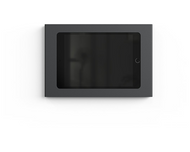 Heckler Design H565 iPad Mini Wall Mount Plus Power - Black Grey iPad mini Wall Enclosure For 24 Volt Passive Power Over Ethernet