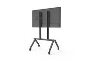 Heckler H714 AV Cart Base Configuration - Single Display - Black Grey