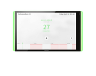 Crestron TSS-1070-B-S-LB 10.1-Inch Conference Room Scheduling Panel with Status Light Kit- Black