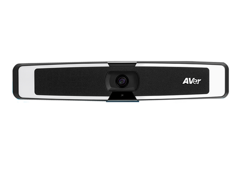 AVer VB130 4K Videobar Appliance with Built-in Lighting for Video Conferencing - Small Rooms and Work-from-Home