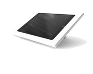 """Heckler H612 Zoom Rooms Console Enclosure for Apple iPad 10.2"""" with Redpark Gigabit PoE Adapter (White)"""