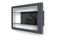 Heckler H634 Side Mount for iPad Mini with Redpark Gigabit Ethernet + Power Over Ethernet (Black Grey)
