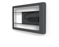 """Heckler H641 Front Mount for iPad 10.2"""" with PoE Splitter - Power Only (Black Grey)"""