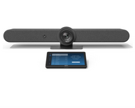 Logitech Rally Bar with Tap V2 Configured for Zoom Rooms Ready to Use Video Conferencing - Android Video Conference Room Appliance