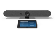 Logitech Rally Bar Mini with Tap V2 Configured for Zoom Rooms Ready to Use Video Conferencing - Android Video Conference Room Appliance