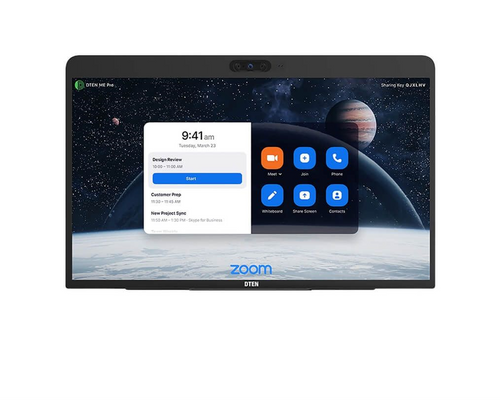 """DTEN ME Pro Series 27"""" Full HD Interactive Multi-Touch All-in-One Zoom Personal Appliance Designed for the Home Office or Personal Work Space"""