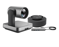 Yealink UVC84 BYOD Cross-Platform Video Conferencing Kit Featuring the UVC84 and MSpeech for Medium Rooms