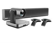 Yealink UVC84-BYOD Video Conferencing Kit Featuring the UCV84 and UCM24 MSpeaker II Audio for Large Rooms