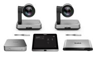 Yealink MVC940  Microsoft Teams Rooms System featuring Dual UVC84 Cameras for Extra-large rooms