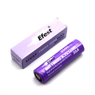 Efest Purple IMR18650 2500mAh 3.7V Flat Top