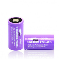 EFEST IMR26500 3000mAh 3.7v Li-MN Flat Top Purple
