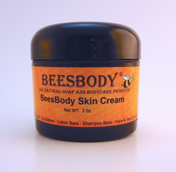 BeesBody Skin Cream 2 oz unscented