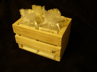 FREE PINE BOX WITH PURCHASE OF 4 SOAPS