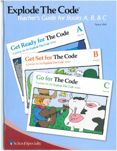 Explode the Code Teacher's Guide Books A, B, C