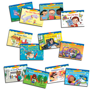 Learn to Write Readers K-1 Variety Pack