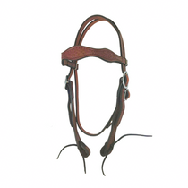 Basket Weave Leather Headstall (Headstall only)