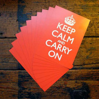 Keep Calm & Carry On Postcard Pack