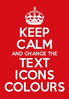 Keep Calm Customised Poster