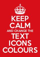 Keep Calm Customised Artwork Download