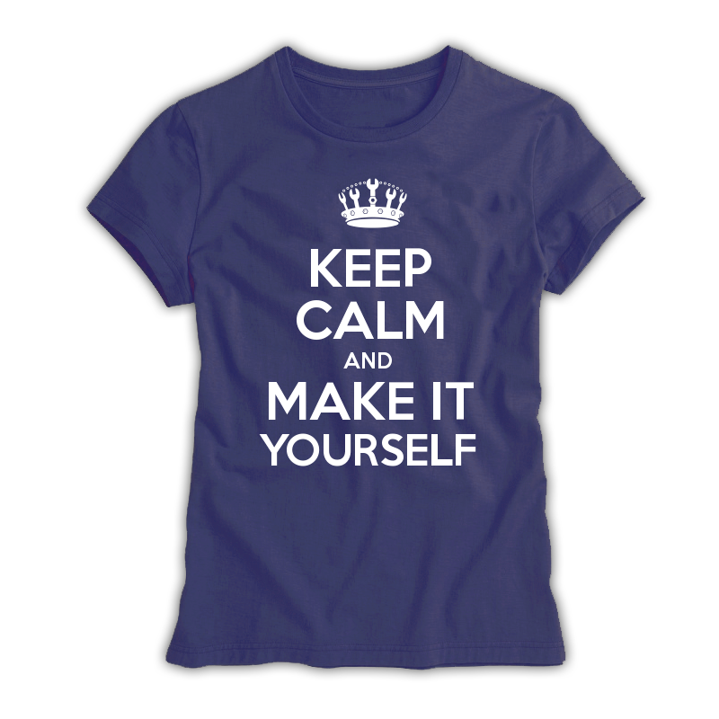 a49f0734 Keep Calm Customised Women's T-shirts - Keep Calm and Carry On