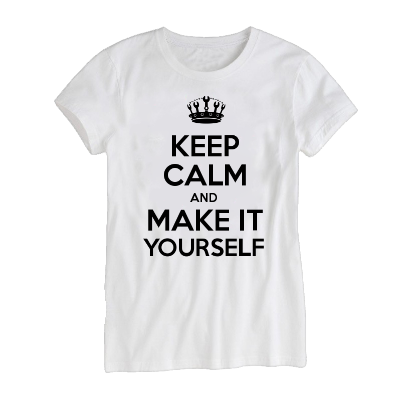 ec607b52 Keep Calm Customised Women's T-shirts - Keep Calm and Carry On