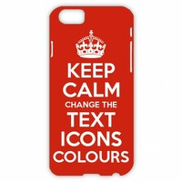 Keep Calm Customised iPhone 6 / 7 / 8 cases