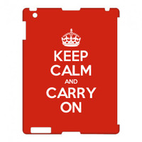 Keep Calm Customised iPad case
