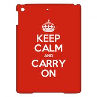 Keep Calm Customised iPad Air case