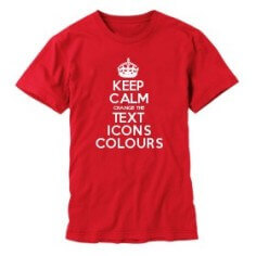 make keep calm gifts with the keep calm and carry on creator this