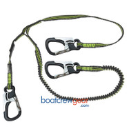 Spinlock 3 Clip Performance Safety Line with custom lightweight clip