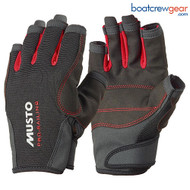 Musto Essential Sailing Gloves, Short Finger