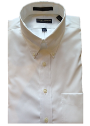 Craig Reagin Performance Button Down Shirt - White