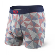 Saxx Ultra Fly Boxer Brief - Grey Pyramid