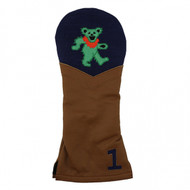 Smathers and Branson Leather Headcover - Dancing Bear