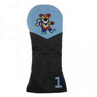Smathers and Branson Leather Headcover - Dancing Bear Tye Dye