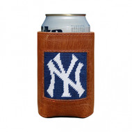 Smathers and Branson Needlepoint Can Cooler - New York Yankees