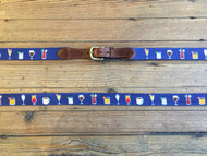 Smathers and Branson Morning Buzz Belt - Classic Navy