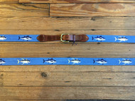 Smathers and Branson Tuna Belt - Cornflower