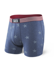 Saxx Vibe Boxer Brief - Chambray Americana