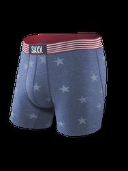 Saxx Vibe Boxer Brief - Chambray Americana