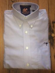 Craig Reagin Light Blue Oxford Sport Shirt