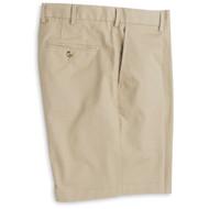 Peter Millar Soft Touch Twill Short - Khaki