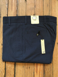 Charleston Khakis Navy Seersucker Stretch Pants