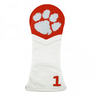 Smathers and Branson Needlepoint Driver Cover - Clemson